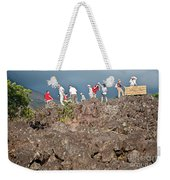 Danger No Trespassing Weekender Tote Bag