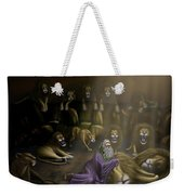 Daniel And The Lions Den Weekender Tote Bag