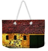 Danish Barn Watercolor Version Weekender Tote Bag by Steve Harrington