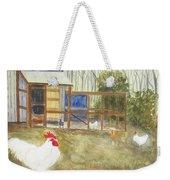 Dan's Chickens Weekender Tote Bag