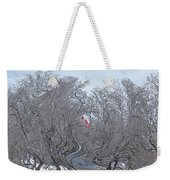 Dans Le Vent / In The Wind Weekender Tote Bag