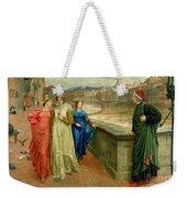 Dante And Beatrice Weekender Tote Bag