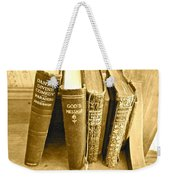 Dante God And Shakespeare ... Weekender Tote Bag