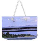 Danube River Bridges Weekender Tote Bag