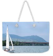 Danube River Sailor Weekender Tote Bag