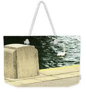 Danube River Swan Weekender Tote Bag