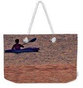 Danvers River Kayaker Weekender Tote Bag