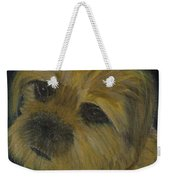 Dapper Dog  Weekender Tote Bag