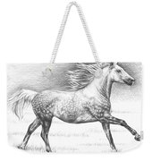Dapple Grey Horse Weekender Tote Bag