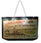 D'arcy's Old Irish Whiskey Weekender Tote Bag