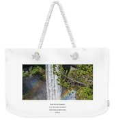 Dare To Loove Yourself Weekender Tote Bag