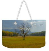 Dare To Stand Alone Weekender Tote Bag by Michael Peychich