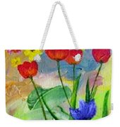 Daria's Flowers Weekender Tote Bag