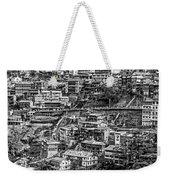 Darjeeling Monochrome Weekender Tote Bag