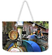 Darjeeling Toy Train Weekender Tote Bag