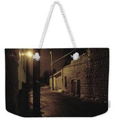 Dark Alley Weekender Tote Bag