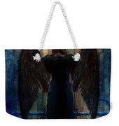 Dark Angel At Church Doors Weekender Tote Bag