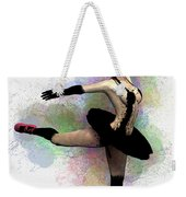Dark Ballerina  Weekender Tote Bag