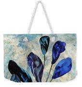 Dark Blue Weekender Tote Bag
