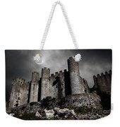 Dark Castle Weekender Tote Bag by Carlos Caetano