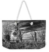 Dark Days Weekender Tote Bag
