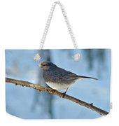 Dark-eyed Junco Or Snowbird - Junco Hyemalis Weekender Tote Bag