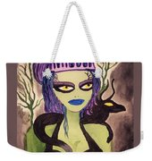 Dark Fairy With Dragon Friend Weekender Tote Bag