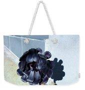 Dark Flower Weekender Tote Bag