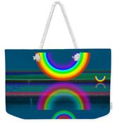 Dark Mirror Weekender Tote Bag