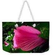 Dark Pink Beauty Weekender Tote Bag