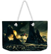 Dark Planet Weekender Tote Bag