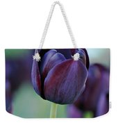 Dark Purple Tulip Weekender Tote Bag