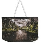 Dark River Woods Weekender Tote Bag