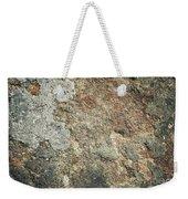 Dark Sandstone Surface With Moss Weekender Tote Bag