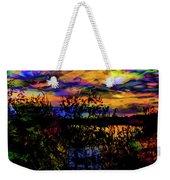 Dark Shadowy Sunset Weekender Tote Bag