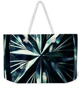 Dark Star On A Glass Scale Weekender Tote Bag