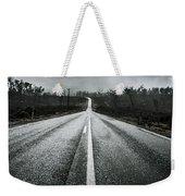 Dark Stormy Road To Cradle Mountain In Tasmania Weekender Tote Bag