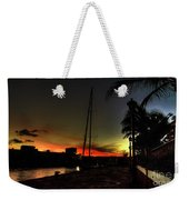 Dark Sunlight Weekender Tote Bag