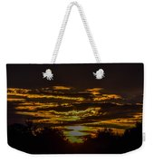 Dark Sunrise Weekender Tote Bag