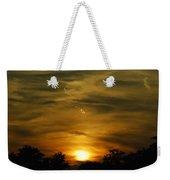 Dark Sunset Weekender Tote Bag