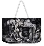Dark Surprise Weekender Tote Bag