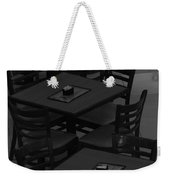 Dark Tables Weekender Tote Bag