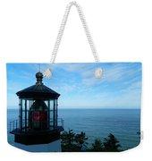 Darkened Lighthouse Weekender Tote Bag