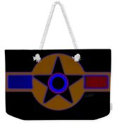 Darker Than Black Weekender Tote Bag