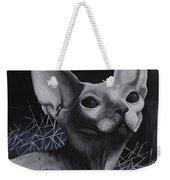 Darkness Cat Weekender Tote Bag