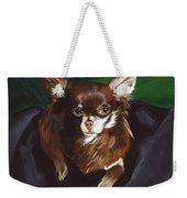 Darla Chihuahua  Weekender Tote Bag