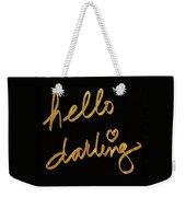 Darling Bella I Weekender Tote Bag