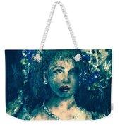 Darling Blue Weekender Tote Bag by Laurie Lundquist