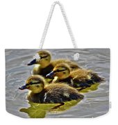 Darling Ducks Weekender Tote Bag