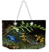 Dart Frogs On The Move Weekender Tote Bag